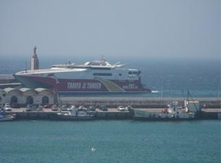 El ferry que me llevará de Tarifa a Tánger.