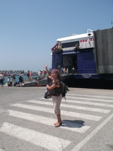 yeeh me voy a subir al ferry!!!