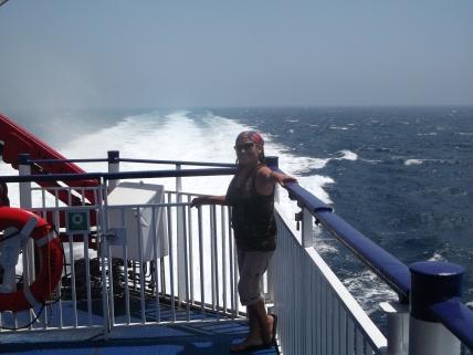 Sintiendo la fuerza del mar!!!